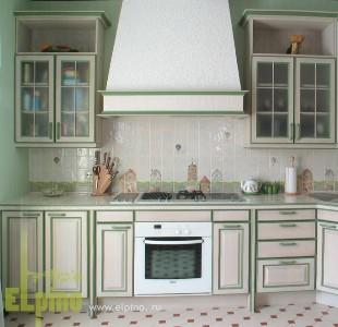"Кухня в стиле кантри от фабрики ""Эльпино"""