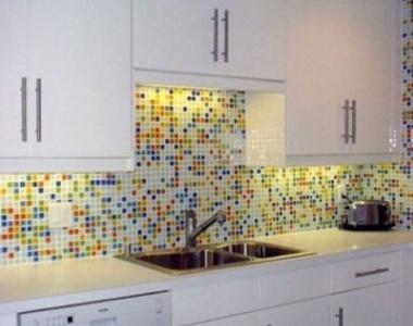 Кухонный фартук из чего его сделать