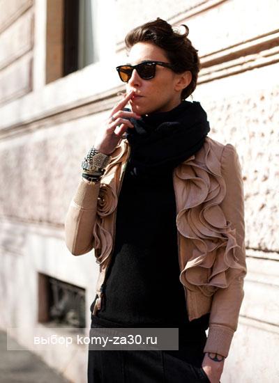 как стильно носить солнцезащитные очки