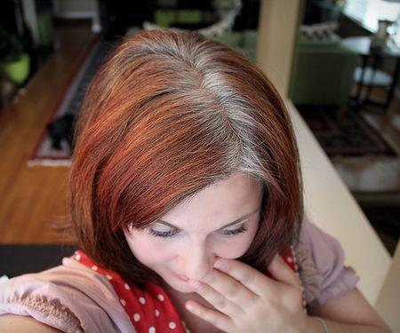 Поговорка про седые волосы