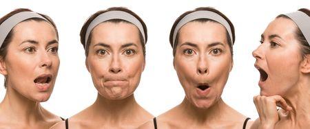 как подтянуть овал лица упражнениями