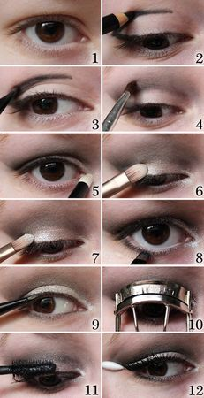 макияж глаз для нависшего века