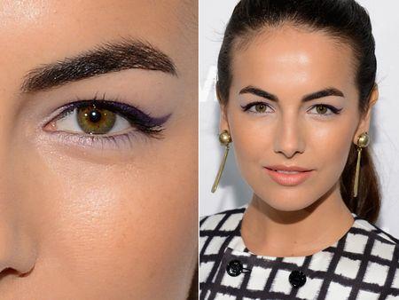 дневной макияж глаз для нависшего века