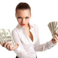 Как получить займ женщине?