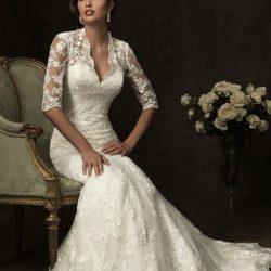 На какие свадебные платья смотреть после 40?