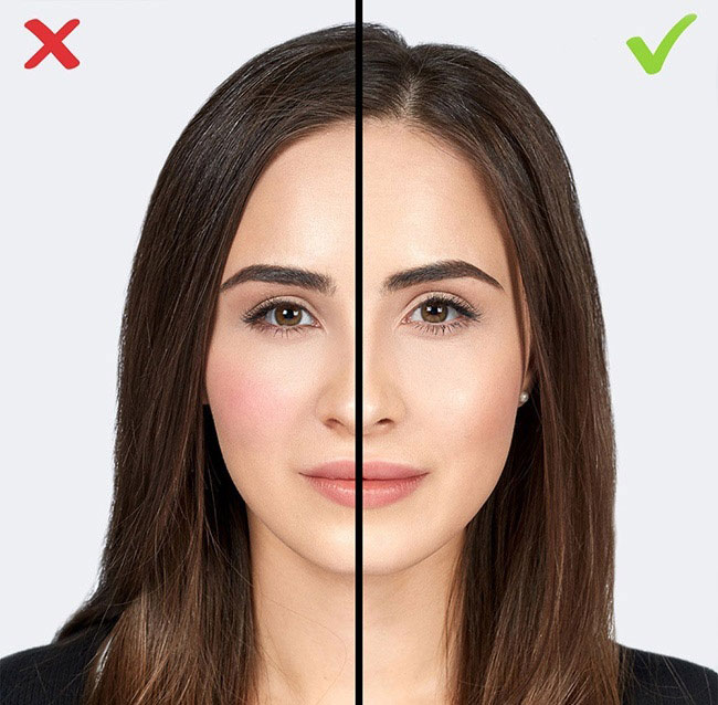 румяна старят макияж молодит ошибки
