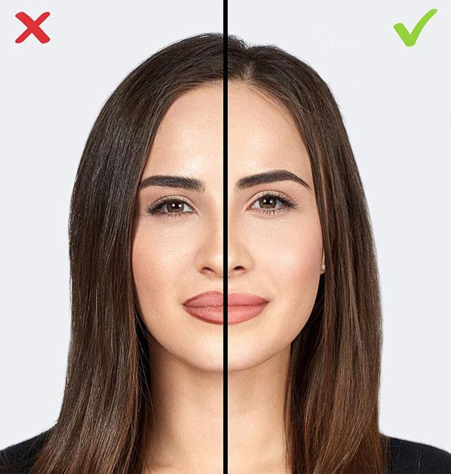 контур губ ошибки в макияже которые старят