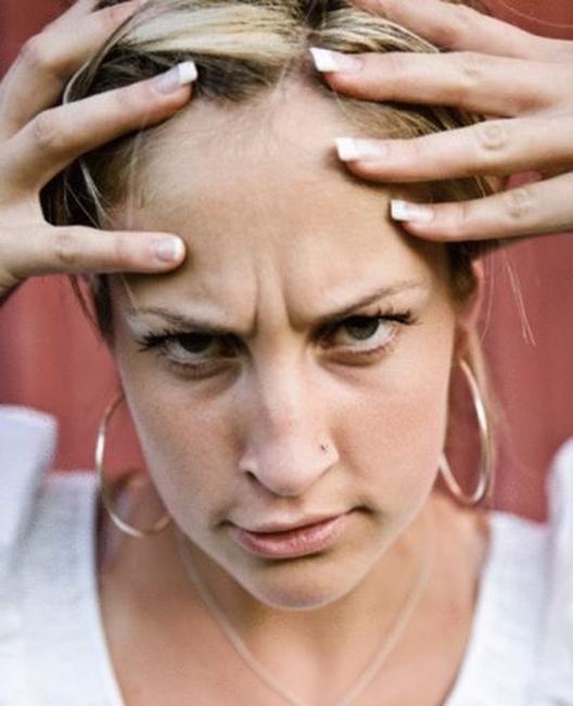 Как бороться с морщинами на переносице