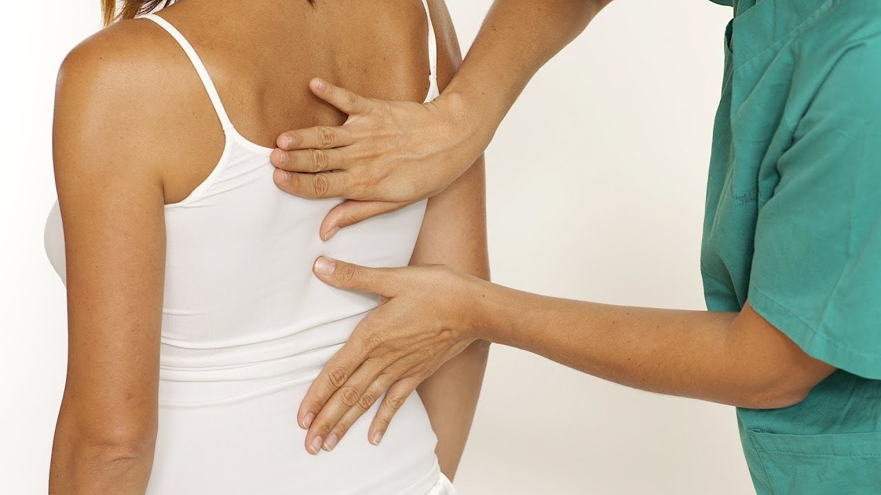 Боль между лопатками причины лечение и профилактика