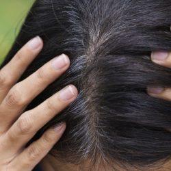 Как лучше всего скрыть седину на тёмных волосах?