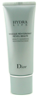 Dior Hydra Life Beauty Awakening Rehydrating Mask 75 мл - пробуждающая и увлажняющая маска для кожи лица после тридцати