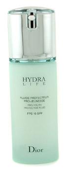 Уход за кожей после тридцати Dior  Hydra Life Pro-Youth Protective Fluid SPF 15