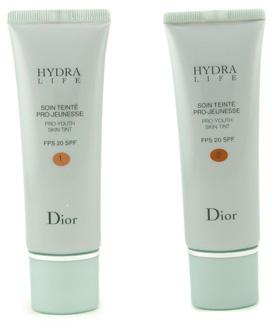 Автобронзант Hydra Life Pro-Youth Skin Tint SPF 20 для кожи лица после тридцати