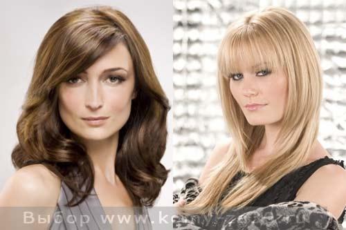 Прически на длинные волосы которые молодят женщину