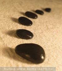 Стоунтерапия, массаж камнями в салоне и у себя дома