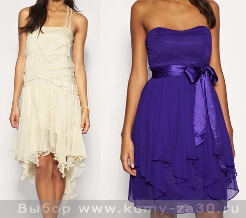 Платье свидетельницы на свадьбе